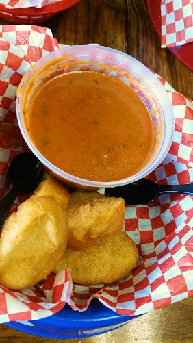 Tomato Basil Vegan Soup
