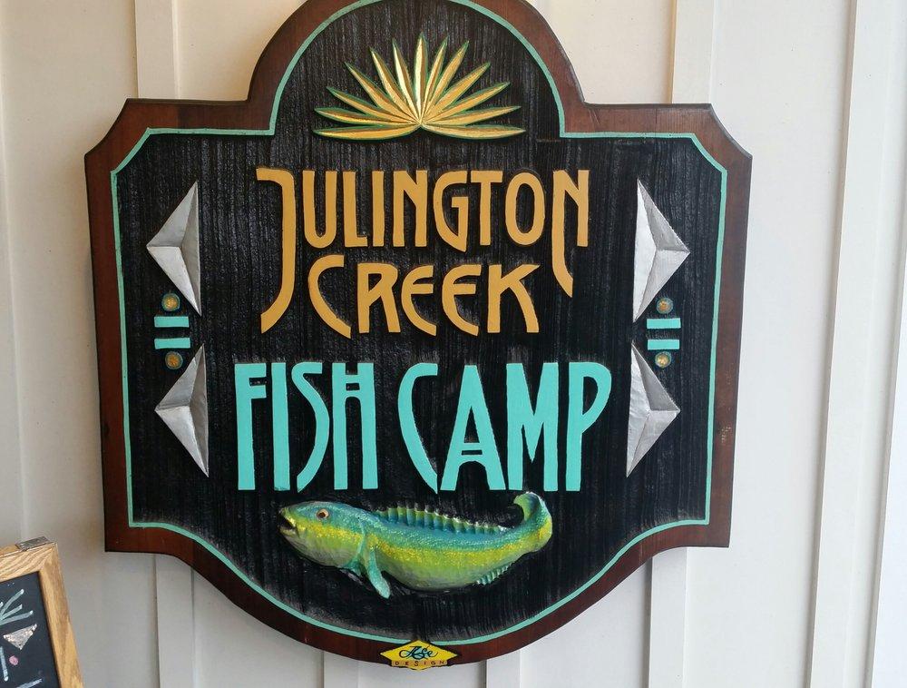 Julington creek fish camp this ones a keeper anna eatz for Julington fish camp