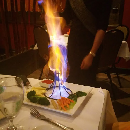 Flaming Chicken