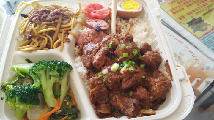BBQ pork w noodles