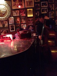 Music in the bar area
