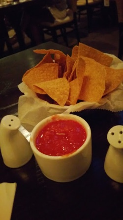 Salsa w chips