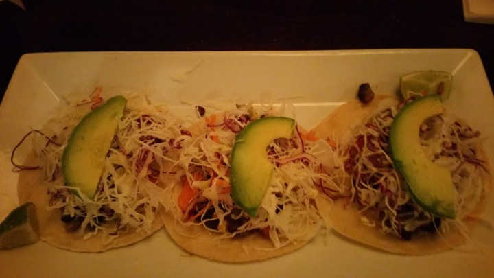 Soft Veggie tacos