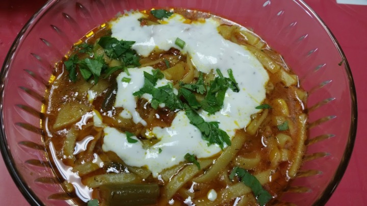 Aash traditional soup