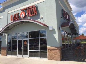 Blaze entrance