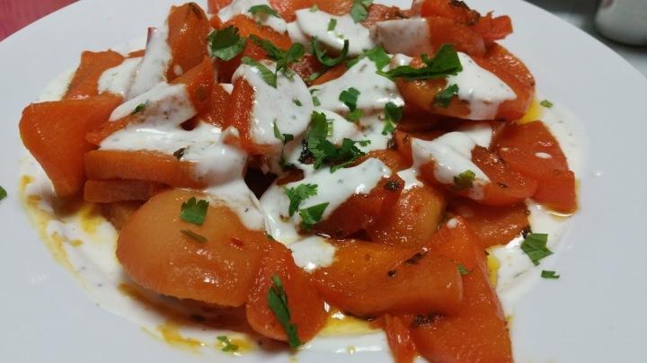 Shelghim Borani, roasted turnips