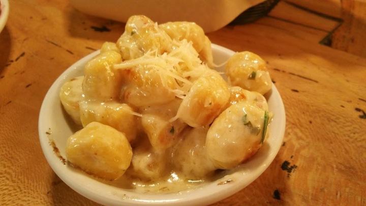 Cheesy Gnocci