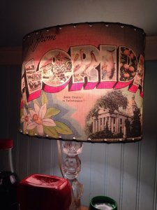 Funky light shade