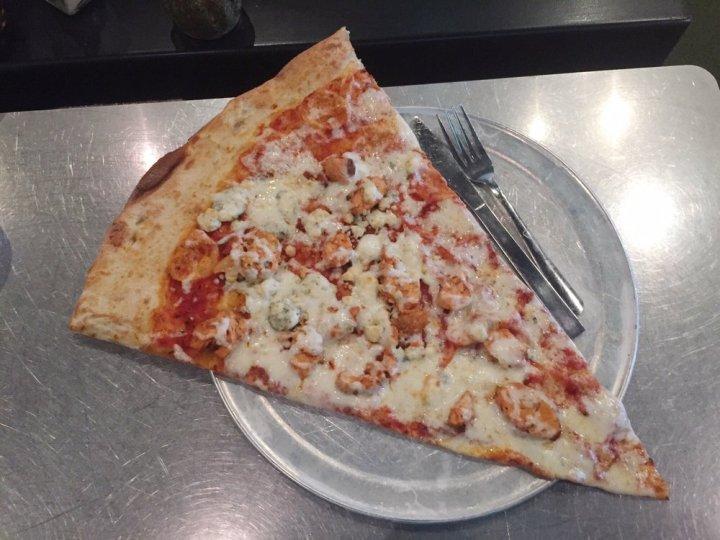 Huge Pizza slices