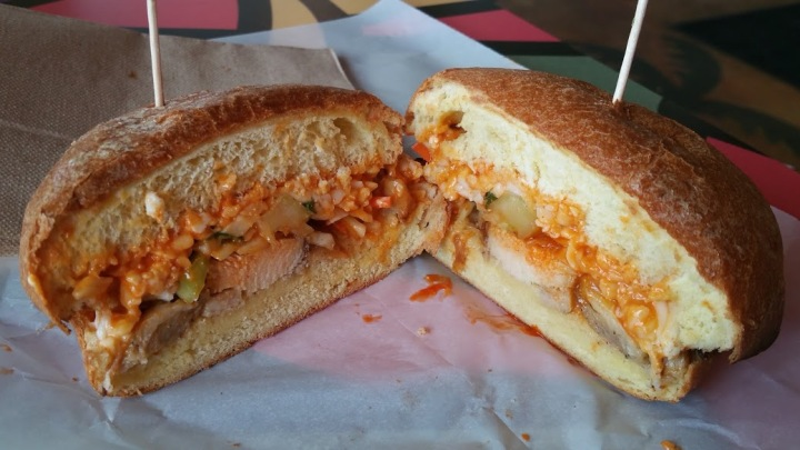 Island Buffalo Sandwich
