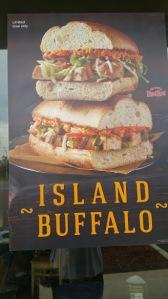 Island Buffalo sign
