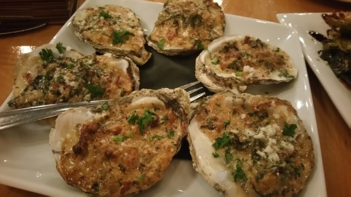 Mid-Atlantic Cold Water Oysters Rocafeller