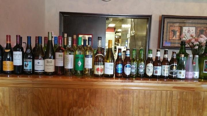 Beer, Wine and Saki