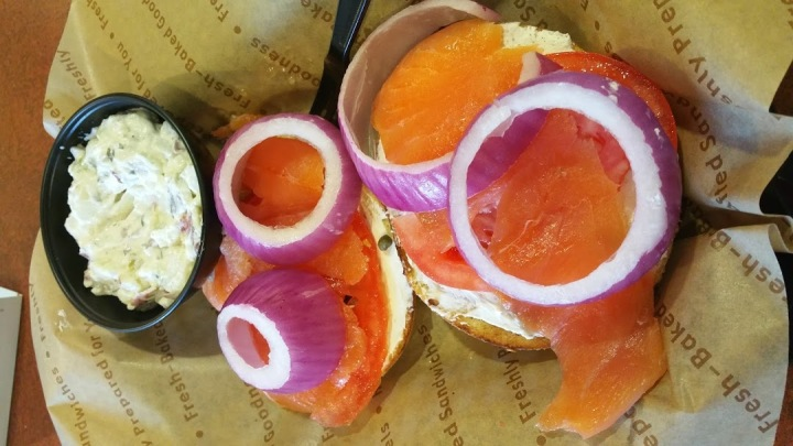 Lox Plate w Potato salad