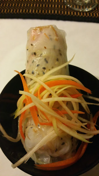 Vietnamese Green Papaya Summer Roll