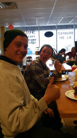 Dave and Troy Burger challange