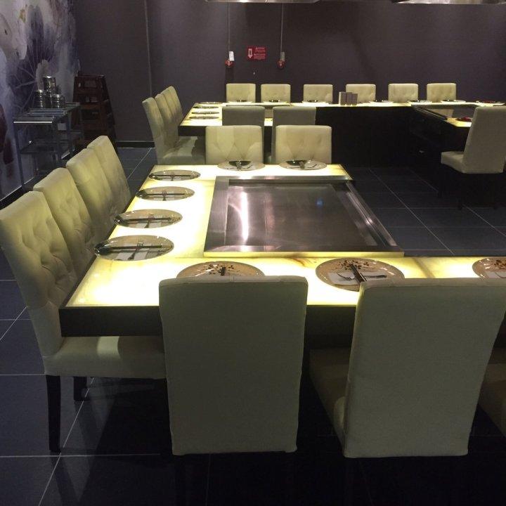 Hibachi Tables