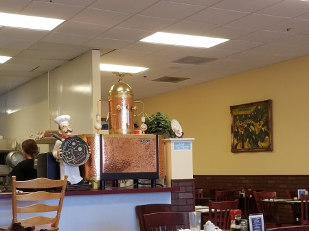 Beautiful espresso, lattee machine