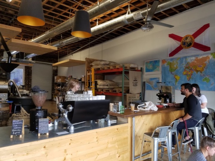 Counter Service in Bold Bean