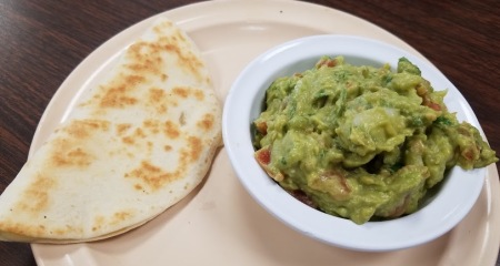 Fresh Guacamole with Queseida
