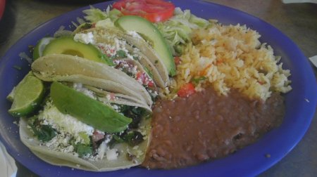 Pepe's Taco Platter