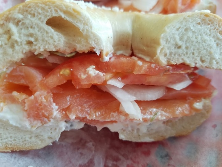 Salt Bagel Lox