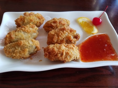 Special Fried Oyster appitizer