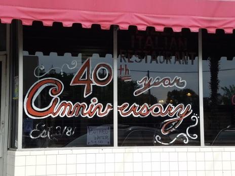 40 year Anniverasay