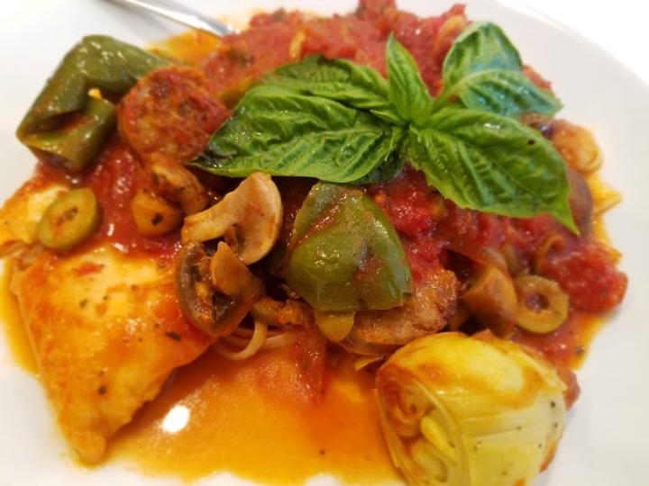 Linguini Scaparella
